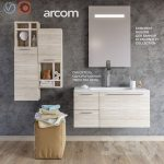A set of furniture for a bathroom 41 ARCOM E.LY COLLECTION