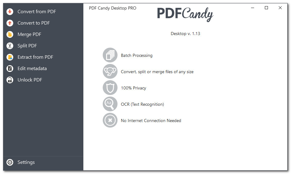 Icecream PDF Candy Desktop Pro 2.0 Multilingual + Portable