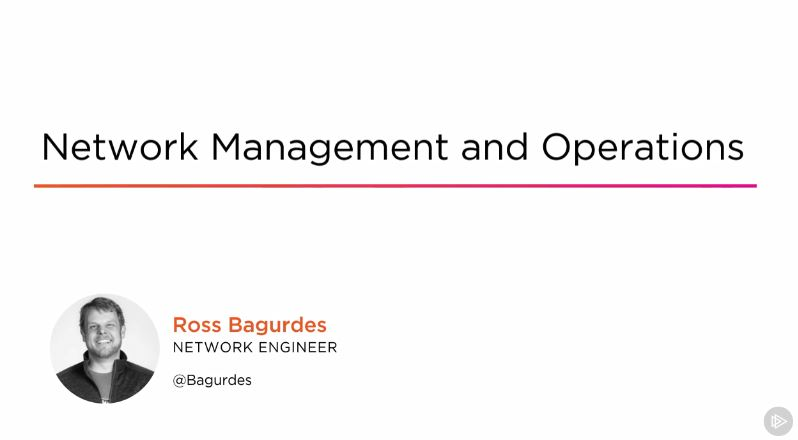 Network Management and Operations