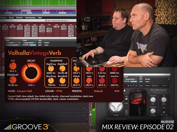 Groove3 Mix Review with Bob Horn and Erik Reichers Episode 2 TUTORiAL-SYNTHiC4TE screenshot