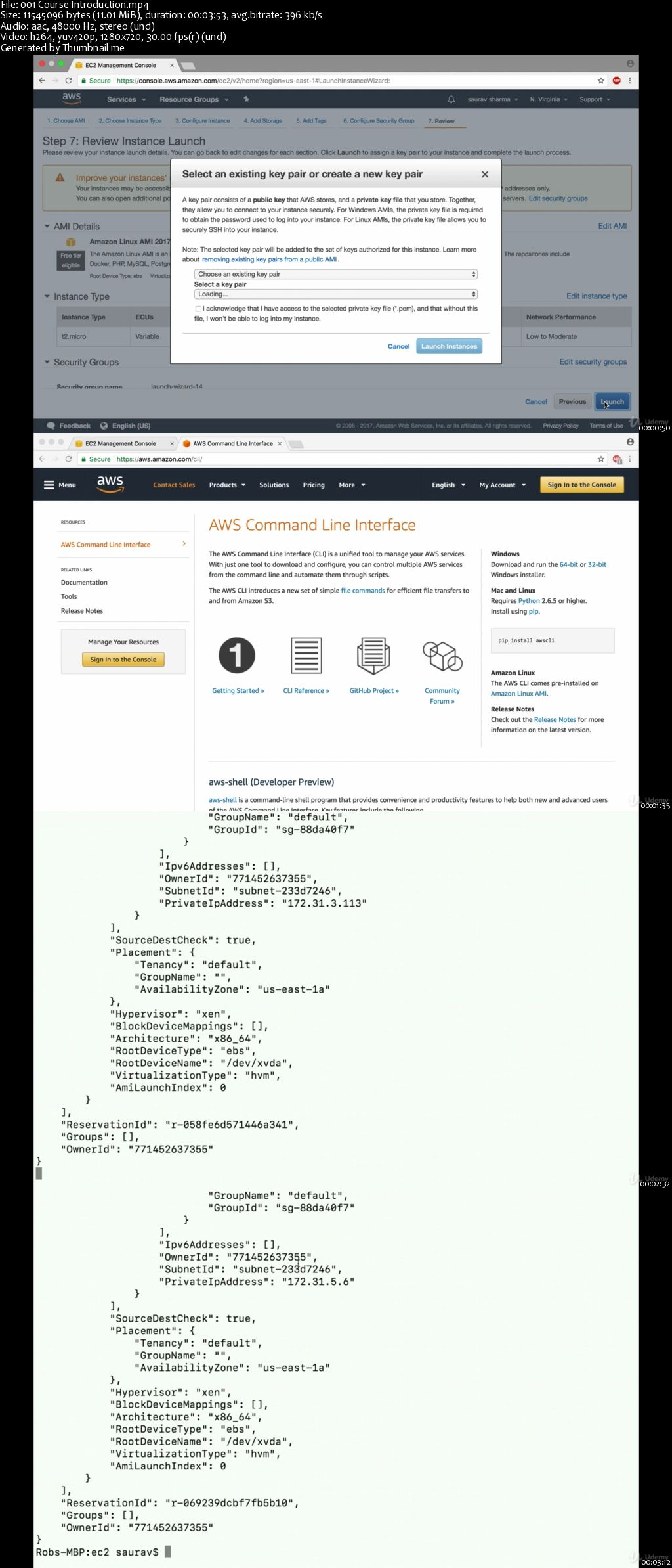 Introduction to the AWS Command Line Interface (CLI)