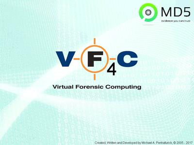 MD5 Virtual Forensic Computing 4.17.8.25