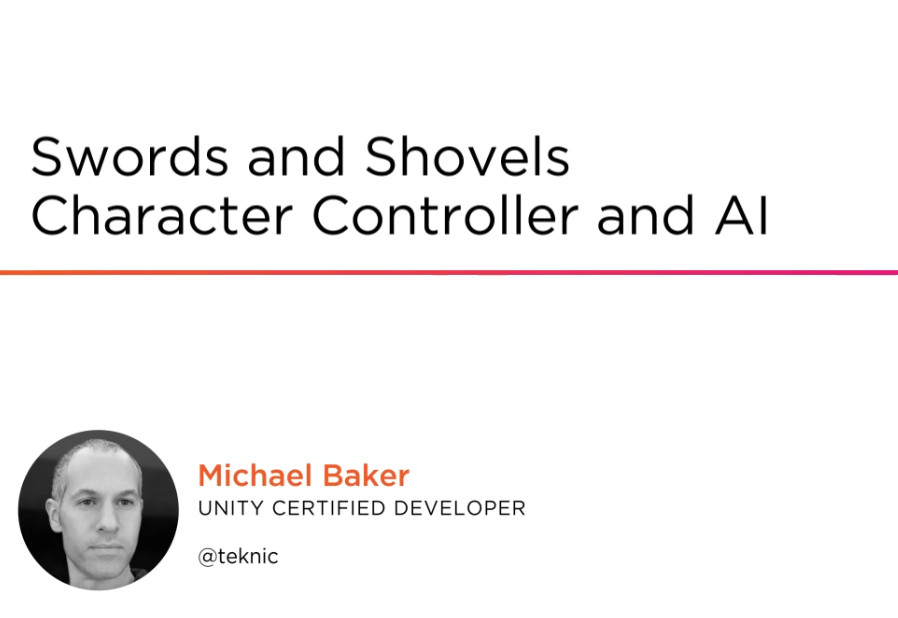 Swords and Shovels Character Controller and AI