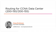 Routing for CCNA Data Center (200-150/200-155)