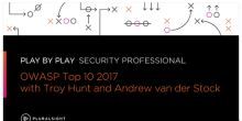 Play by Play: OWASP Top 10 2017