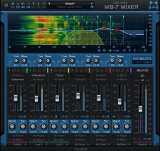 Blue Cat's MB-7 Mixer 3.1