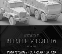 Gumroad – Introduction to Blender Workflow Volume One