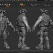 Flippednormals – Modeling characters for games