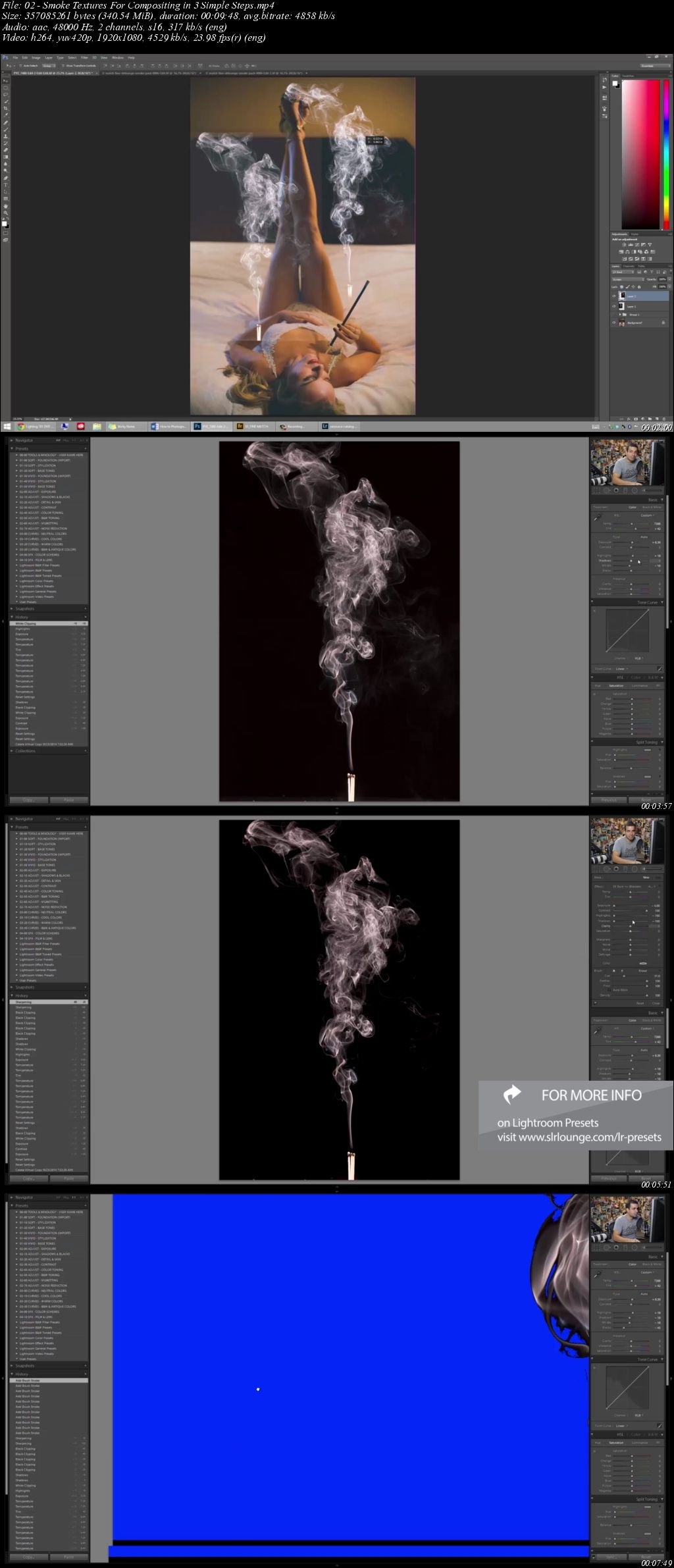SLR Lounge - Smoke Texture Pack + Tutorials