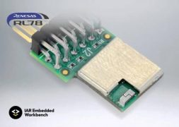 IAR Embedded Workbench for Renesas RL78 version 4.10.1